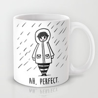 Rainy Days Mug by Laurel Mae