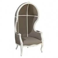 Grey Porter Chair