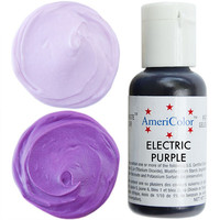Electric (NEON) Purple Gel Paste Food Coloring