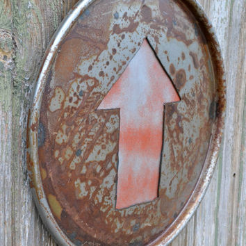 Arrow Industrial Wall Decor From 26briks On Etsy Art Home