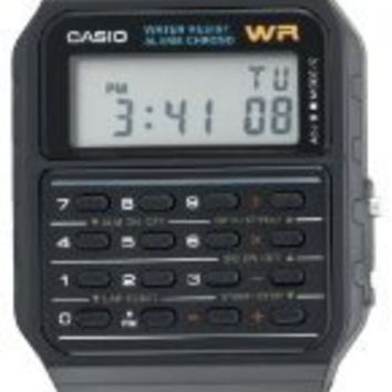 Casio Men`s CA53W-1 Twincept Databank Ani-Digi Resin Watch