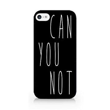 Can You Not - Hipster - Swag - iPhone 6 Black Case (C) Andre Gift Shop