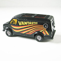 Vantastic  Corgi  Toy Van, Hippie Vehicle, Psychedelic Era