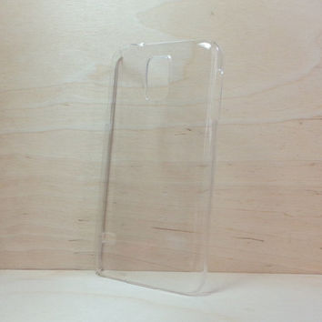 Hard Plastic Case for Samsung Galaxy S5 - Clear