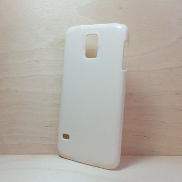 Hard Plastic Case for Samsung Galaxy S5 - Ivory
