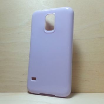 Candy Color TPU Soft Silicone case for Samsung Galaxy S5 - Lilac