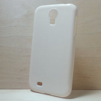 Hard Plastic Case for Samsung Galaxy S4 - Ivory