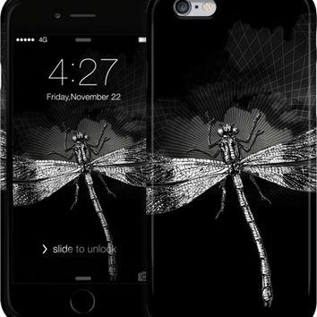 DRAGONFLY II iPhone Cases & Skins by Pia Schneider | Nuvango