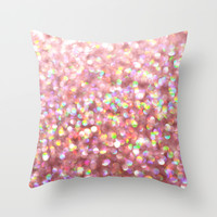 Pinkalicious Throw Pillow by Lisa Argyropoulos
