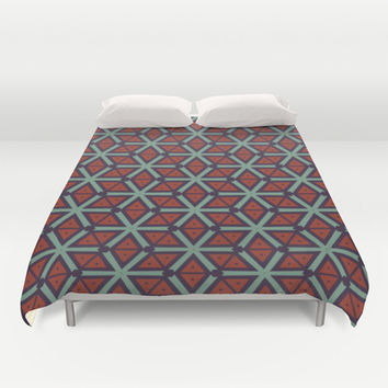 Cubes pattern Duvet Cover by Laly_sb