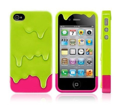 Designer Melt Iphone 4/4S Case for Couple by Julyjoy
