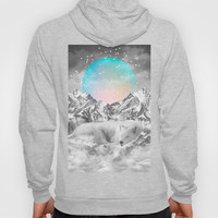 Put Your Thoughts To Sleep (Winter Moon / Wolf Spirit) Hoody by Soaring Anchor Designs