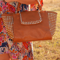 Looking For A Stud Purse: Camel