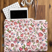 Lisa Argyropoulos Love Flowers And Dots Pouch
