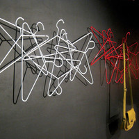Switched On Set: Hangers Wall Coat Rack by Jade Barnes-Richardson