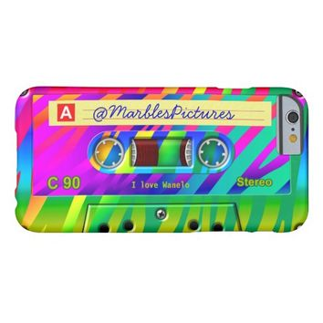 Zebra Stripe Rainbow Cassette Personalized