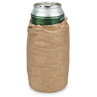 Bum Bag Drinks Cooler | Brown paper bag bottle cooler by Thabto