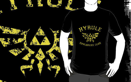 Hyrule Explorers Club Dark by AngryMongo
