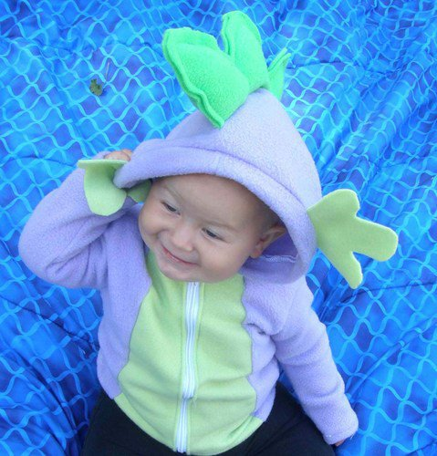 SPIKE My Little Pony Custom plush Hoodie JACKET MLP FIM Costume Any Sz