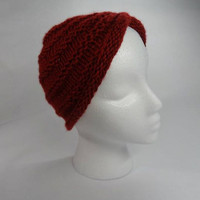 Turban Headwrap Hat Knitted or Crocheted