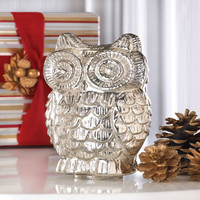 Quilted Owl Figurine - Default
