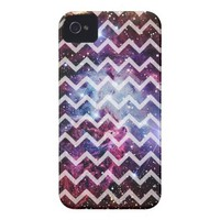 Galaxy Fox Fur Nebula ~ Chevron from Zazzle.com