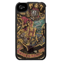Hogwarts Crest - Destroyed Iphone 4 Cases from Zazzle.com