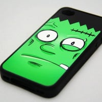 Halloween Frankenstein Rubber Case for iPhone 4 and iPhone 4S