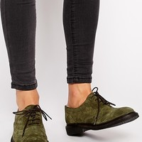 ASOS MIRACLE Leather Flat Shoes
