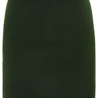 Bobble Pencil Skirt by Boutique - Dark Green