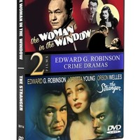 The Woman In The Window (1944) / The Stranger (1946) (Edward G. Robinson, Orson Welles)