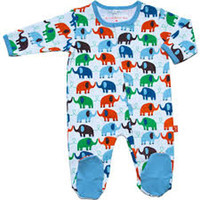 Magnificent Baby Elephant Footie (Boys)
