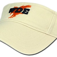 '47 Brand WDE Visor with Eagle - Natural by Tiger Rags
