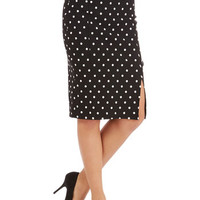 ModCloth 60s Long Pencil Work Day Darling Skirt