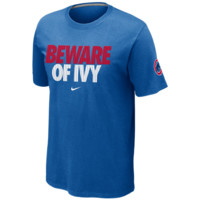 Chicago Cubs Nike Beware Local T-Shirt – Royal Blue - http://www.shareasale.com/m-pr.cfm?merchantID=7124&userID=1042934&productID=505489367 / Chicago Cubs