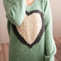 Bold Heart Forever Urban Sweater