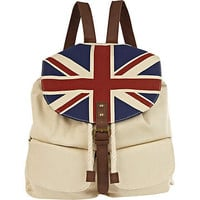 stone union jack rucksack