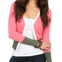 Colorblocked Cardigan | Shop Sweaters at Wet Seal
