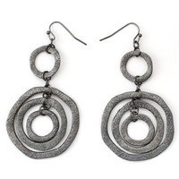 333568-EE63919-002-Concentric Circle Dangle Earrings