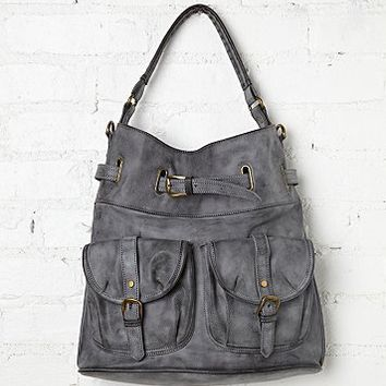 Free People Lizzy Double Pocket Tote