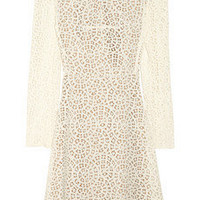 Carven | Cotton-blend lace dress | NET-A-PORTER.COM