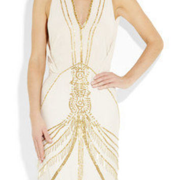 Antik Batik | Beaded silk-blend dress | NET-A-PORTER.COM
