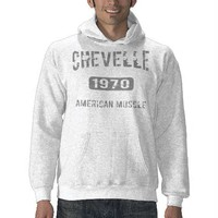 1970 Chevelle Merchandise Hooded Pullovers from Zazzle.com
