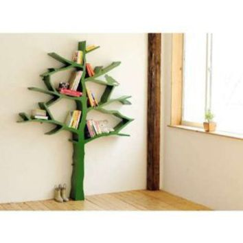 Nursery Works Tree Bookcase- Green