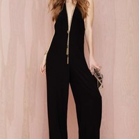 Solace Rossi Stretch Crepe Jumpsuit