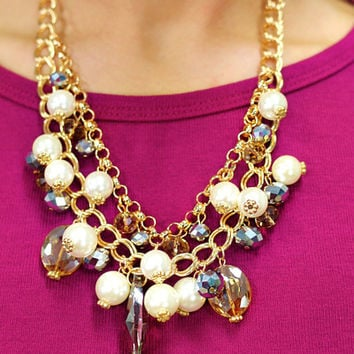 Champagne Kisses Necklace - GOLD