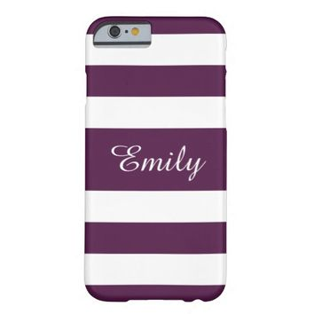 Personalizeable Purple and White