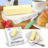 Buttered Up Bread Shaped Butter Dish