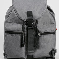 Grey Multi Pocket Backpack - Topman