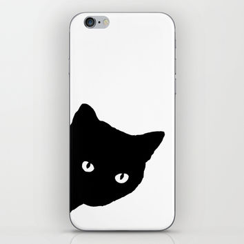 Meow iPhone & iPod Skin by Sherry Yuan